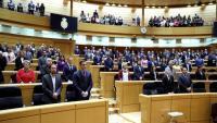 Imatge de la sessió del Senat celebrada el 25 de febrer