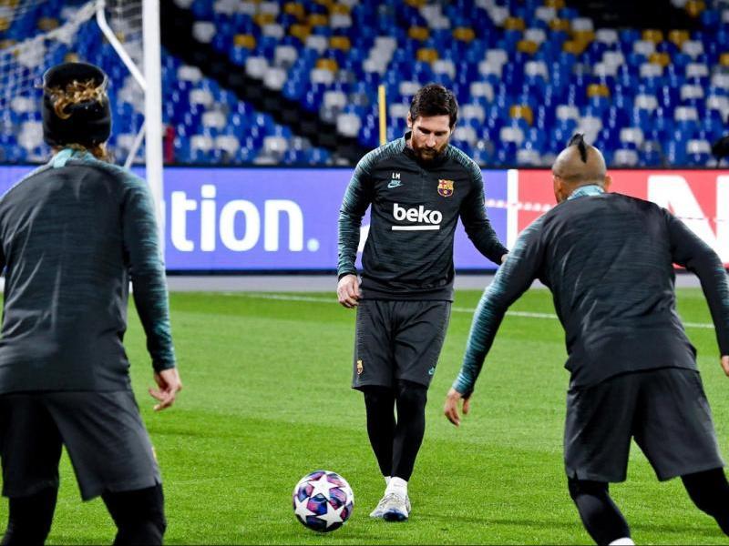 Messi a San Paolo
