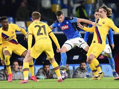 El Barça no va ser capaç de superar el Nàpols a San Paolo després d'un mal partit