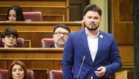 El portaveu d'ERC al Congrés, Gabriel Rufián, al Congrés dels Diputats