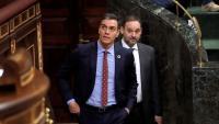 El president del govern espanyol, Pedro Sánchez, entrant al Congrés aquest dijous