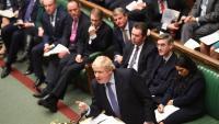 Boris Johnson en una intervenció a la Cambra dels Comuns