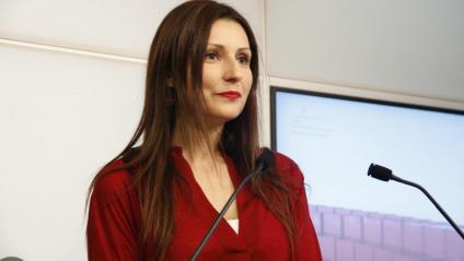 Lorena Roldán, portaveu de Cs al Parlament