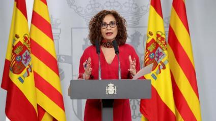 María Jesús Montero, ministra d'Hisenda i portaveu del govern espanyol