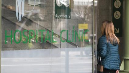 Entra a l'Hospital Clínic de Barcelona