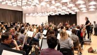 L'assaig de l'Orquestra Simfònica de la 'Resurrecció' de Mahler al Liceu