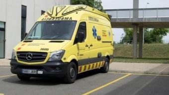 Ambulància del SEM de la base de Reus