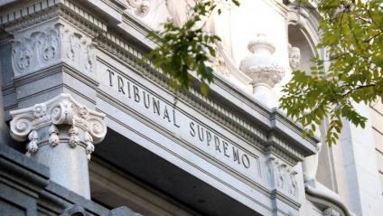 Imatge de la façana del Tribunal Suprem