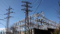 Imatge d'una estació de transformació elèctrica