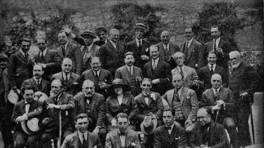 Assemblea de delegats el 1923
