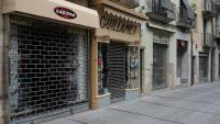 Botigues tancades durant el confinament a Girona