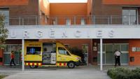 Imatge de les urgències de l'hospital