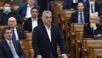 Orbán, ahir al Parlament en la votació de la mesura