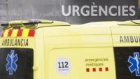 Un camioner mor en xocar contra la mitjana i bolcar a l'A-2 a Castellbisbal