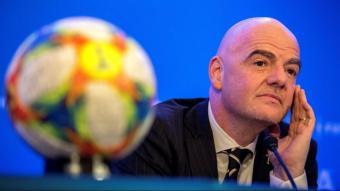 El president de la FIFA Gianni Infantino