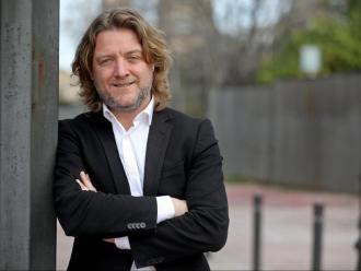 El regidor d'Esports de Barcelona David Escudé , en una entrevista recent