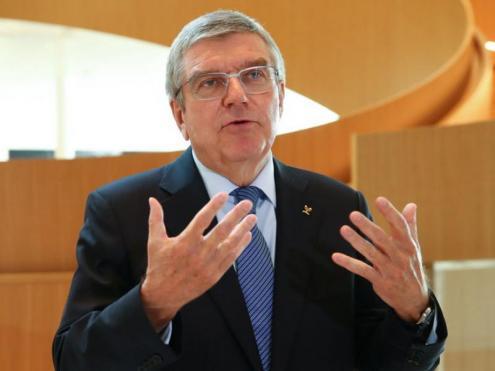 El president del COI, Thomas Bach
