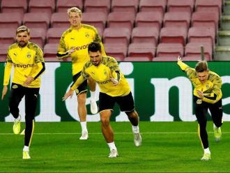 Els jugadors del Borussia Dortmund tornaran avui als entrenaments.