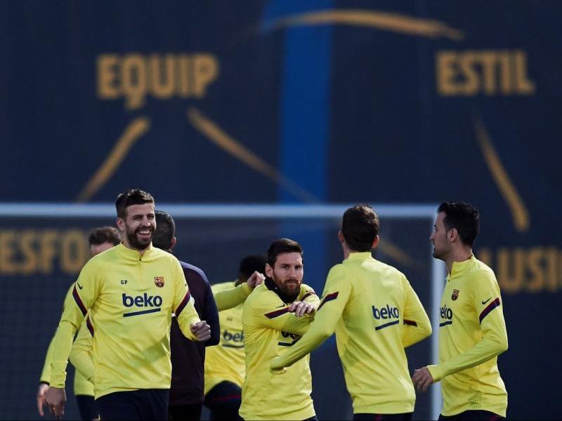 Messi, Piqué, Busquets i Sergi Roberto, els capitans de la plantilla