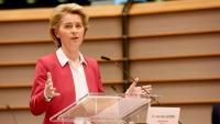 La presidenta de la Comissió Europea, Úrsula Von der Leyen