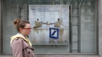 Cartell publicitari d'hipoteques en una entitats bancària