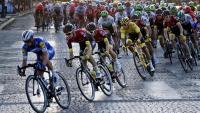 La darrera etpa del Tour de l'any passat a París