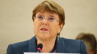 Michelle Bachelet, Alta Comissionada de les Nacions Unides pels Drets Humans