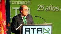 El president de l'ATA, Lorenzo Amor