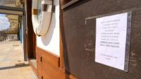 Un restaurant tancat al passeig de Sant Antoni de Calonge