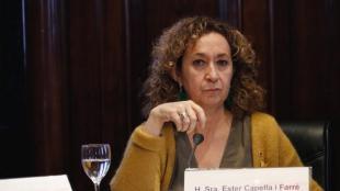 La consellera de Justícia , Ester Capella, en una imatge d'arxiu