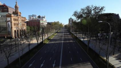 Passeig de la Castellana de Madrid