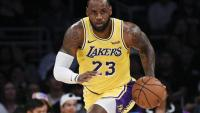 LeBon James estrella dels Lakers