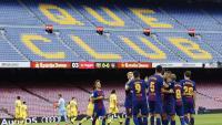 El Barça va jugar a porta tancada el dia 1 d'octubre de 2017 contra la UD Las Palmas