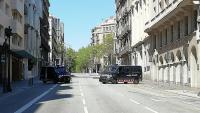 Controls dels Mossos a Barcelona, dissabte al vespre i ahir al migdia