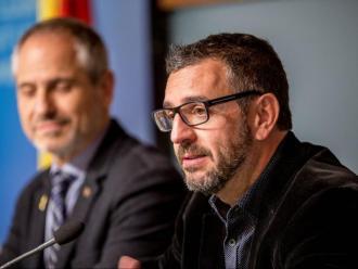 Ignasi Planas, en una compareixença