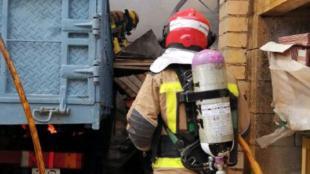 Tres morts en un accident de trànsit entre tres camions i un turisme a Sant Boi de Llobregat