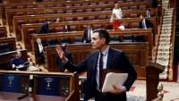 Pedro Sánchez al Congrés per decidir l'alarma