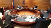 Els ministres al consell celebrat aquest dimarts