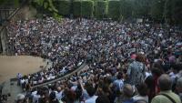 L'amfiteatre grec podria tenir una limitació d'espectadors (a la imatge, en la inauguració del 2018)