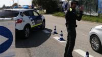 Control de trànsit de la policia local de Palamós