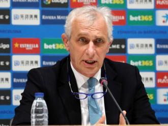 El vicepresident de l'Espanyol, Carlos García Pont.