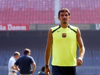 El exfutbolista turc Rüstü Reçber, porter del Barça entre el 2004 i 2006.