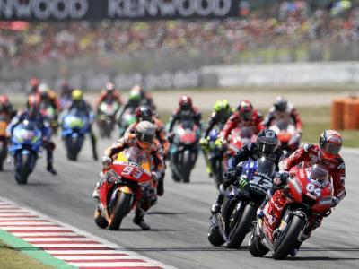 La cursa de Moto GP de l'any passat al Circuit de Barcelona-Catalunya