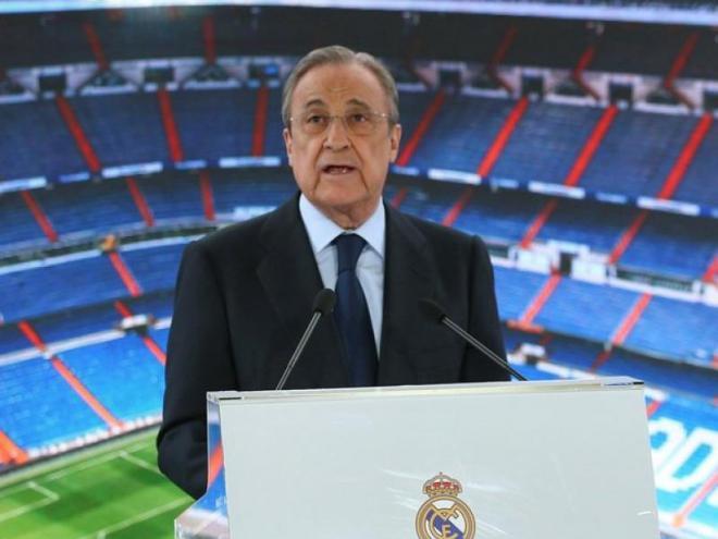 Florentino Pérez ha vist com la pandèmia ha trastocat el seu balanç econòmic.