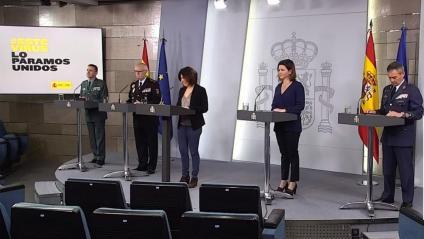 La roda de premsa del comitè tècnic espanyol sobre la crisi del coronavirus