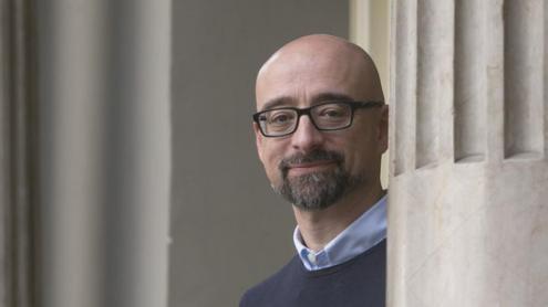 L'investigador, fotografiat a  Barcelona.