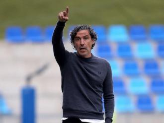 Raúl Garrido , entrenador de l'Olot