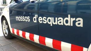 Imatge d'un vehicle dels Mossos d'Esquadra