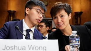 L'activista Joshua Wong en una imatge d'arxiu
