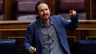 Pablo Iglesias, al Congrés dels Diputats la setmana passada